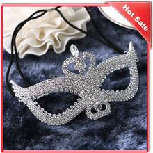 crystal handmade metal design venetian mask