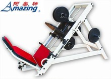 commercial fitness equipment home gym leg press AMA-321 hammer strength leg press produced by Guangzhou Yijin manufactry