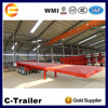 Best Designed Chinese 40ft 3 axles top trailer manufacturers