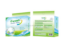 Special Laundry Detergent sheet scent soap tablets best quality
