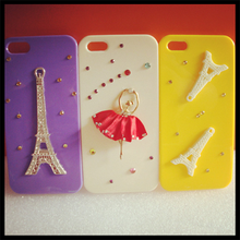 Eiffel Tower accessories for iphone creative mobile phone shell for iphone5/4/4s