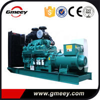 Gmeey AC Three Phases Open Type 728KW 910kva USA Diesel Generator