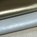 brillo piel de vaca sofá de cuero material