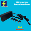 90W Automatic Universal Car and Home Charger 15V-20V for Brand Laptops
