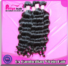Sold well for its fine quality human cambodian weave hair extension cambodian loose wave