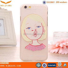 2015 Cute for iphone 6 pc covers, custom for iphone 5 pc covers