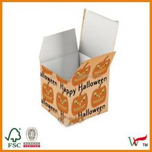 Pumpkin Halloween Party Favor Box