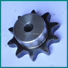1045 stell standard industrial chains and sprockets with bush for machinery from China manufacture