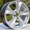 matt black 16*7.0 replica silver car alloy wheel 5*114.3