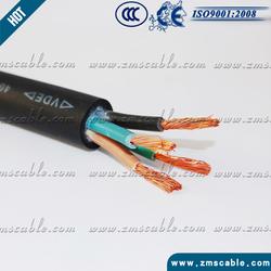 silicone rubber 4 core cable