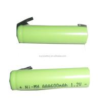 New high quality 1.2v 40mah nimh button cell and battery nimh 2.4v 600mah