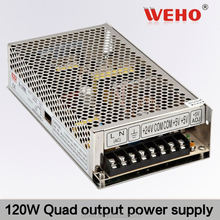 import cheap goods 120W Quad output switching quad output programmable power supply