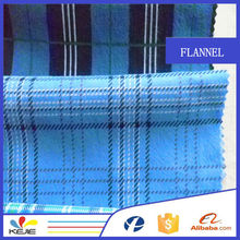 One-Side Brushed Cotton Flannel Fabric Light and Soft Textile For Garment