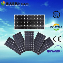 Bluesun high quality streetlight use suntech mono crystalline silicon 80wp solar pv module