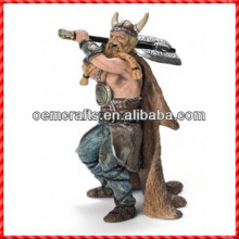 Powerful custom inflatable Resin Viking Statue