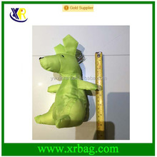 Custom animal dog shaped folding shopping bag in bag