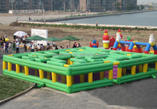 Inflatable kids maze,labyrinth, inflatable kids puzzle games