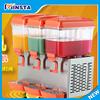 Restaurant juice dispenser/milk dispenser machine 18 liters juicer commercial cold and hot fruit juice dispenser