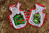 2015 summer dinosaur baby and mummy dog vest, pet products