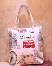 2015Wholesale Factory Supplier custom printed cotton shopping tote bag