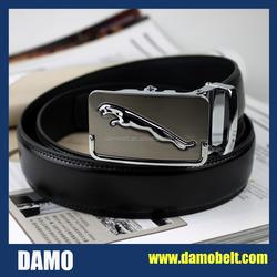 Men Leather Belt with Automatic buckle Wholesale ,Ratchet Leather Belt Men ,Automatic Buckle Belt Men