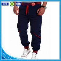 Custom closed bottom polyester/cotton new style boys pants in bulk