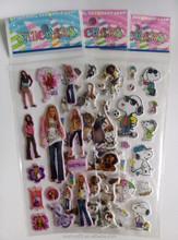 Kids cartoon sponge foam sticker ,self adhesive sticker ,factory supply