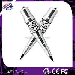 Eyebrow lips eyeliners permanent makeup machine, wireless permanent make up device, digital silver eyebrow tattoo machine pen
