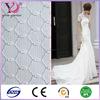 Polyester nylon drapery mesh fabric small hole for wedding decoration