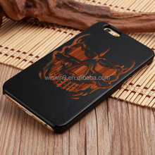 Real wood phone cover manufacturer natural wood case for iPhone 6s plus