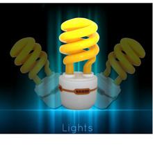 18w half spiral energy saving light