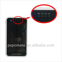hot selling slim solar charging bank for iphone/Samsun for traveling