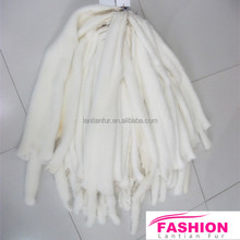 Excellent White Mink Fur Skins