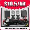 9007 Hi/Lo beam H4 bixenon kit dual beam kit,Car LED Headlight Bulbs HID 55w Xenon 6000K 9007