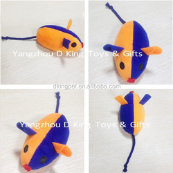 Cute Mouse Plush Toy / Rattle Mouse Cat Toy