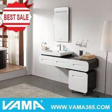VAMA Elegant Hanging Mirror With Led Light Bathroom Vanity Furniture