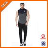 Fitted latest design tracksuit pre-shrunk cotton track bottom tapered jogging pants