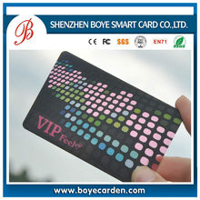 2015 full color plastic transparent pvc business card/ pvc card printing