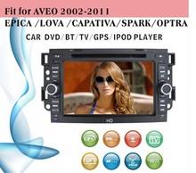 7 inch windows ce car gps fit for Chevrolet Aveo 2002 - 2011 Epica Lova Captiva with radio bluetooth gps tv