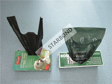 Heat Seal pet waste bag, Plastic material dog poop bag
