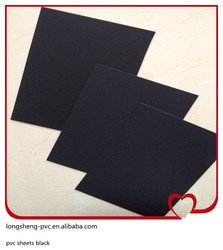 2014 hot sale pvc sheets black size 0.85*1005*1005mm made in Jiangsu of China