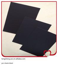 2014 hot sale pvc sheets black size 0.85*1005*1005mm made in Jiangsu of China