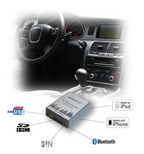 Apps2Car CD Digital Music changer USB SD AUX MP3 Player Support Bluetooth (CE,RoHS approved)