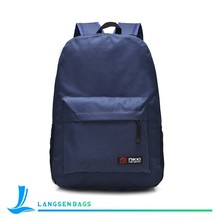 Wholesale custom Good quality colorful canvas school backpack laptop backpack