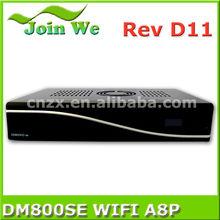 dm800hd se original sim a8p for wifi dm800se digital satellite tv receiver sunray 800se wifi a8p enigma2 linux