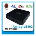 android tv box 8 núcleo