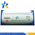 Refrigerante de gas r600a con alta pureza 99.9%