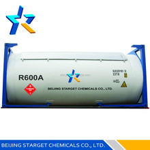 refrigerant gas r600a with high purity 99.9%