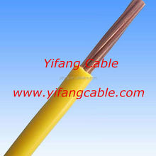 450/750V PVC Electric Cable 4mm Single Core Copper Building Wire