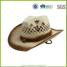High quality straw hats mexican straw hats with logo from factory